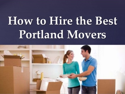 Hire Moving Company Portland